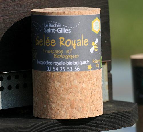 gelée royale biologique de producteur français