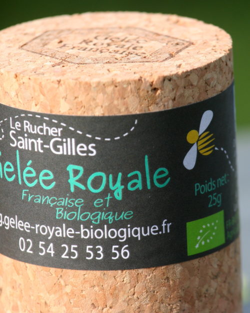 gelée royale bio française 25g